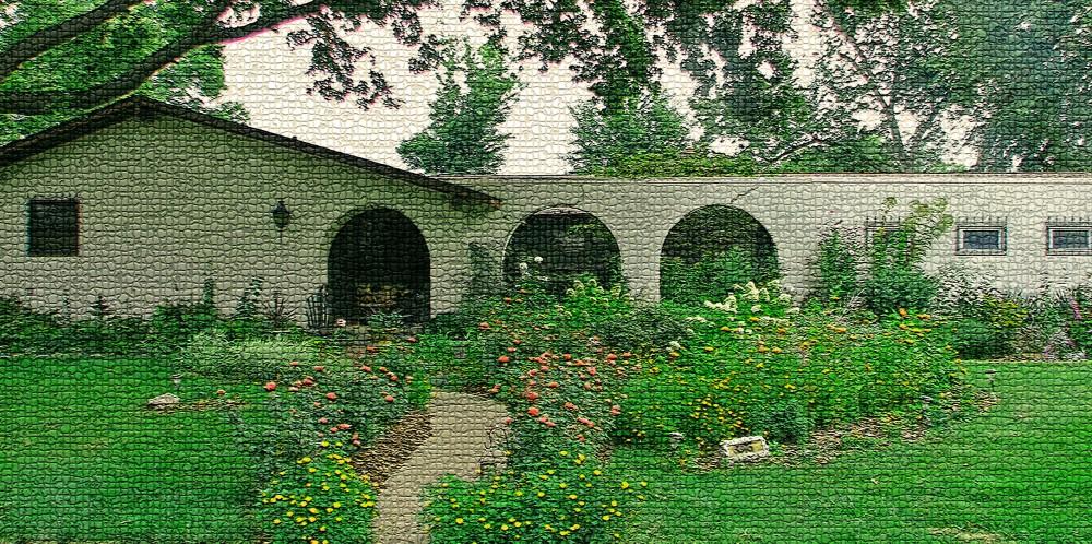 2011 front yard, orange zinnia veggies sept 9th 003_edited-1